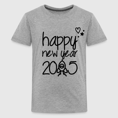 Happy new year 2015 - Camiseta premium adolescente