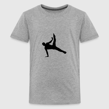 Turner, Turnen - Teenager Premium T-Shirt