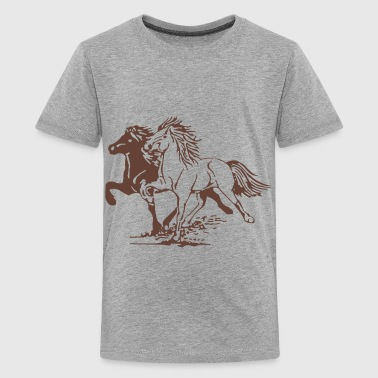 Horse Picture - Teenager Premium T-shirt