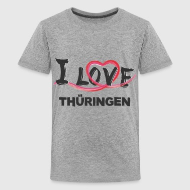Thüringen - Teenager Premium T-Shirt