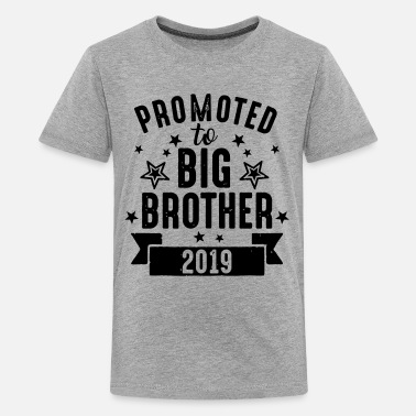 Brother Promoted to big Brother 2019 - Großer Bruder '19 - Maglietta Premium per ragazzi