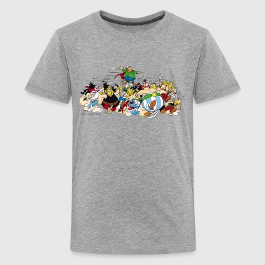 Asterix & Obelix attack Kid's T-Shirt - Premium T-skjorte for tenåringer