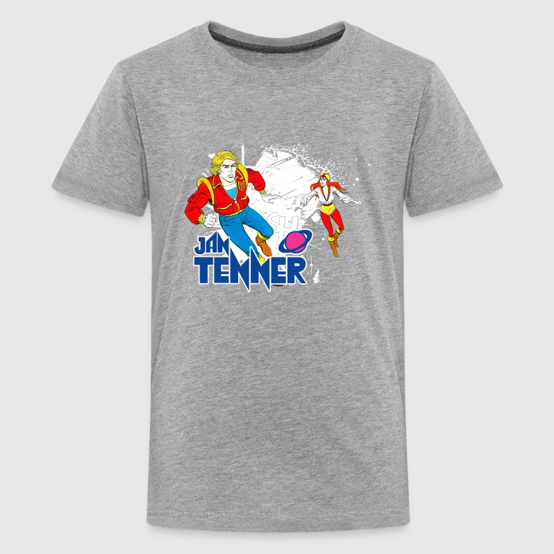 Jan Tenner und Laura Männer T-Shirt - Teenager Premium T-Shirt