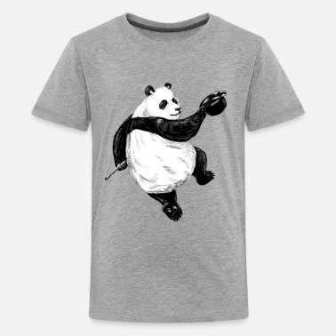Spreadshirtlikes Dancing Panda - Teenager Premium T-Shirt