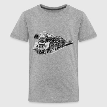 Dampflokomotive - Teenager Premium T-Shirt