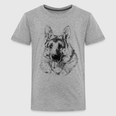 Germaanse Herder German shepherd - Teenager Premium T-shirt