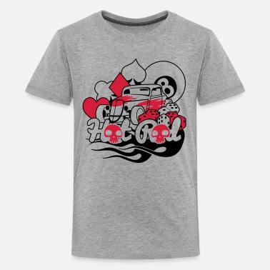 Rockabilly Hot Rod Rockabilly Rod - T-shirt Premium Ado