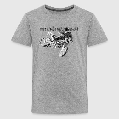 Motocross motocross - Teenage Premium T-Shirt