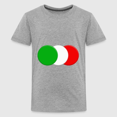 Italian flag - Teenage Premium T-Shirt