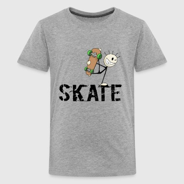 skate! - Teenager Premium T-shirt