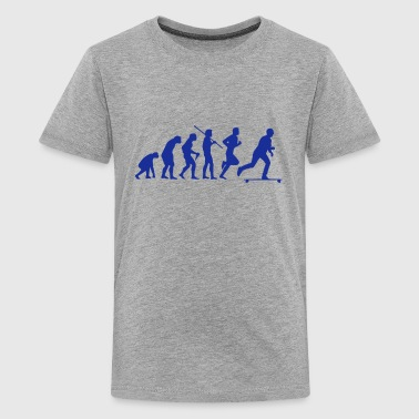 SKATEBOARD EVOLUTION - T-shirt Premium Ado