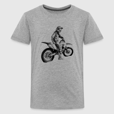 Biker - Teenager premium T-shirt
