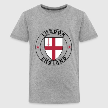 Coat of Arms London 3 - Teenager Premium T-Shirt