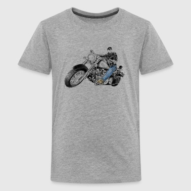 chopper - Camiseta premium adolescente