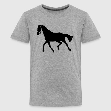 Caballo Horse - Teenage Premium T-Shirt