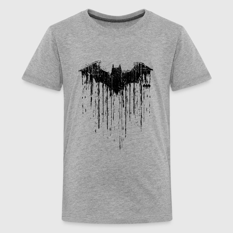 DC Comics Batman Fledermaus Used Look - Teenager Premium T-Shirt