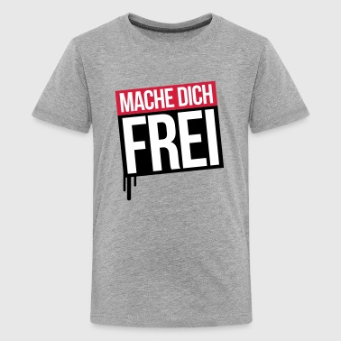 mache dich frei rs 3c - Teenager Premium T-Shirt
