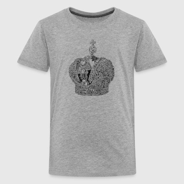 Crown of the Russian Empire - Teenage Premium T-Shirt