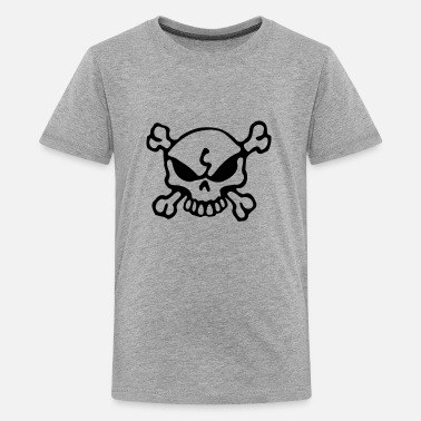 Bad Skull Bad Skull - Teenager Premium T-Shirt