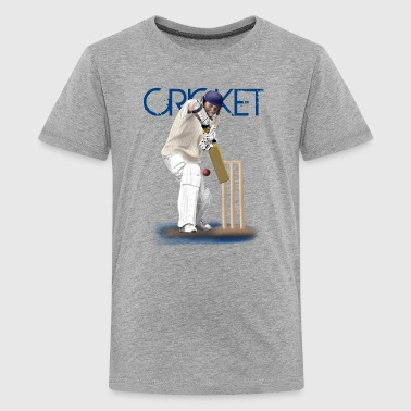 cricket - Teenager Premium T-shirt
