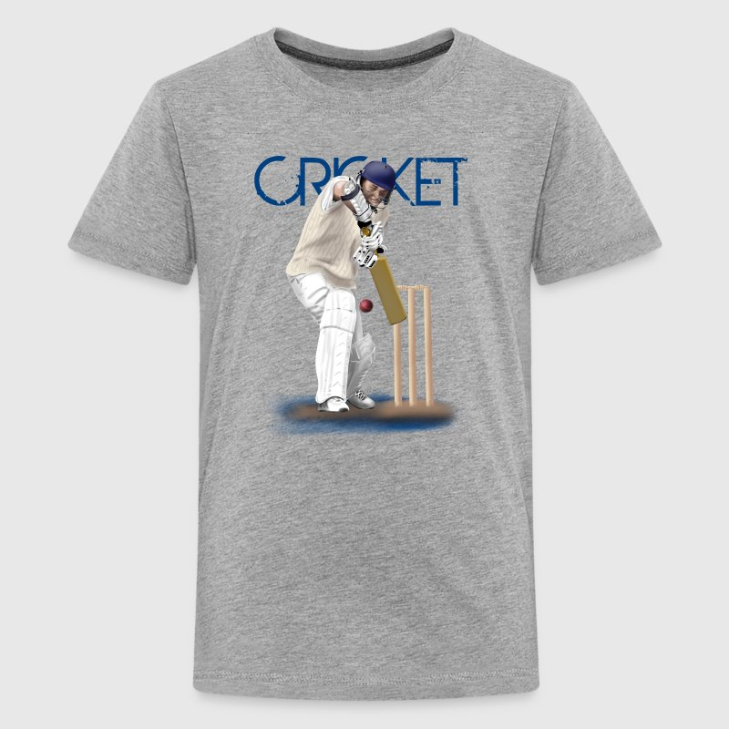 cricket - Teenage Premium T-Shirt
