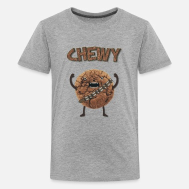 Monster  Funny Nerd Humor - Chewy Chocolate Cookie Wookiee - T-shirt Premium Ado