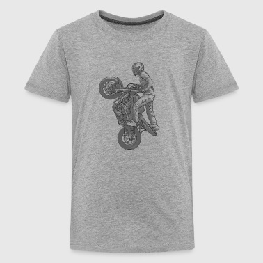 Stunt riding - Teenage Premium T-Shirt