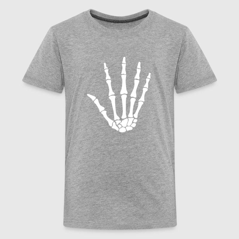 skull hand - knochen hand von CheesyB | Spreadshirt
