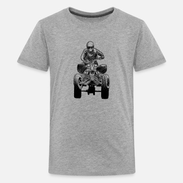 Quad quadrocycle - T-shirt Premium Ado