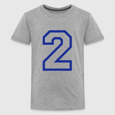 THE NUMBER TWO, 2 - Teenage Premium T-Shirt