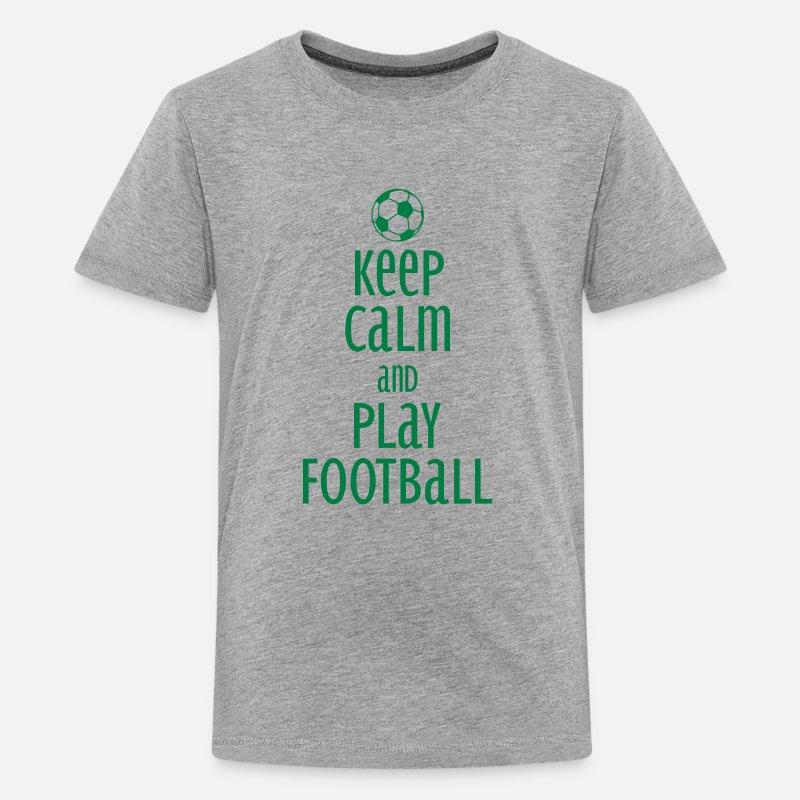 I PLAY FOOTBALL T SHIRT