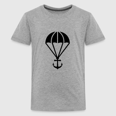 Parachute with anchor - Teenager Premium T-Shirt