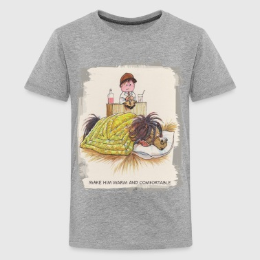 Thelwell - Pony sleeping - Teenage Premium T-Shirt