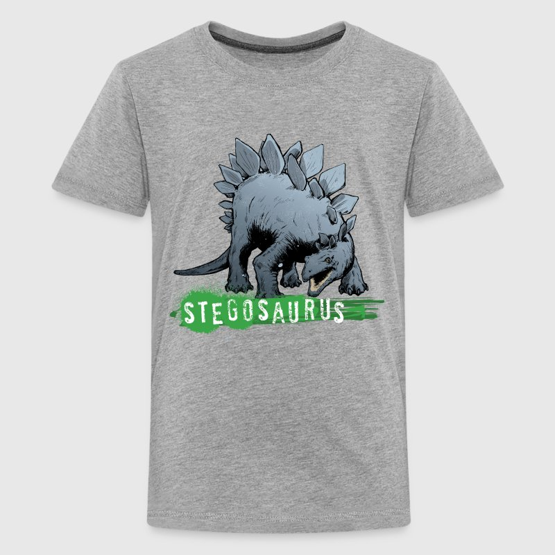 Animal Planet Stegosaurus - Premium T-skjorte for tenåringer