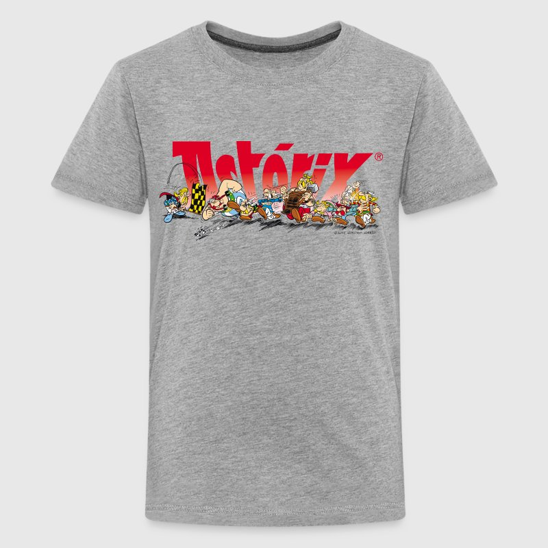 Asterix & Obelix Start for the Run Teenager T-Shir - Teenage Premium T-Shirt