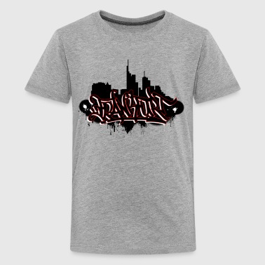Frankfurt ! - Kids-Shirt - Teenager Premium T-Shirt