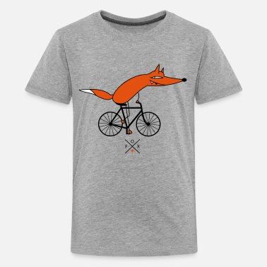 1c56e325a Rower inteligentniejsze rowerzystów - Premium koszulka dla nastolatków