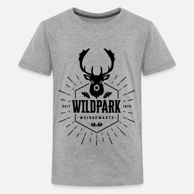 Wildlife Park Edition (1 motif) - Teenage Premium T-Shirt
