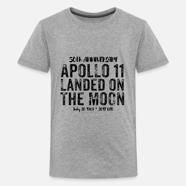 Moon Landings moon-landing - Teenage Premium T-Shirt