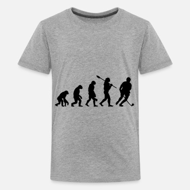 Field Hockey Field Hockey Evolution - Teenage Premium T-Shirt