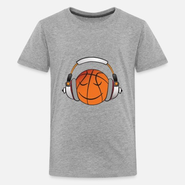 Music BBall - Teenage Premium T-Shirt