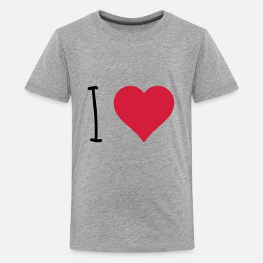 I Love I Love - Teenager Premium T-Shirt