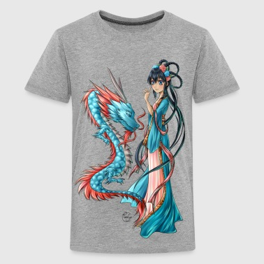 Blue Dragon - T-shirt Premium Ado