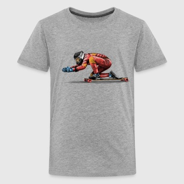 Longboard - Teenage Premium T-Shirt