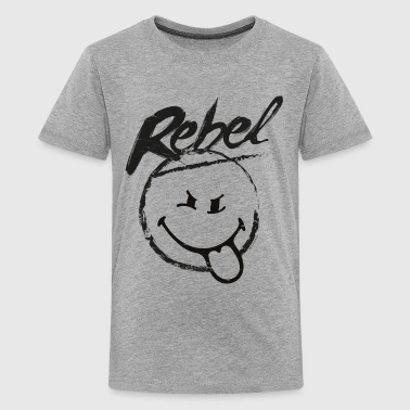 SmileyWorld Rebel - Teenage Premium T-Shirt