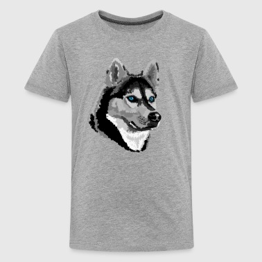 Husky - Teenage Premium T-Shirt
