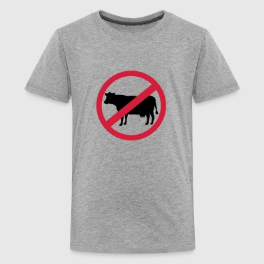 Vegetariër - Teenager Premium T-shirt