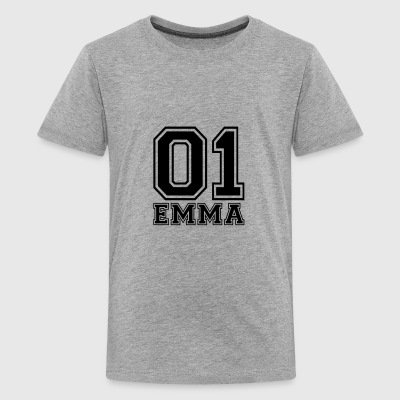 Emma - Naam - Teenager Premium T-shirt