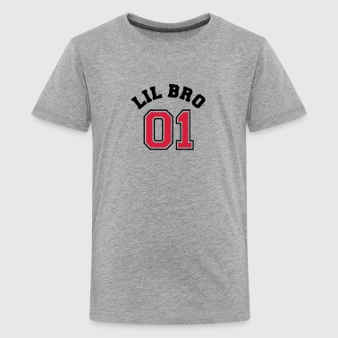 Lil Bro 01 - Little Brother - Teenager Premium T-Shirt