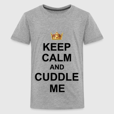 CUDDLE ME - Teenage Premium T-Shirt